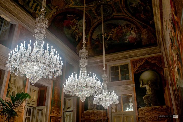 A Sala Dom João VI no Palácio Nacional da Ajuda