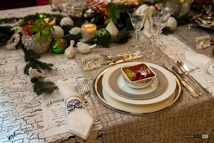 Mesa de Almoço de Natal por Cristina Santos Silva