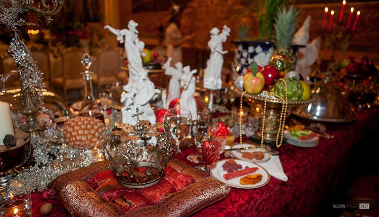 Mesa de Ceia de Natal criada por Salvador Corrêa de Sá