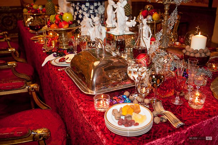 Mesa de Ceia de Natal por Salvador Corrêa de Sá